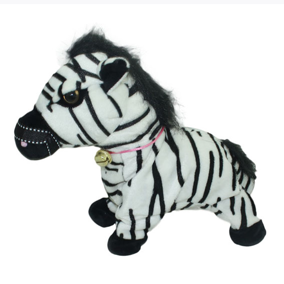 DJ Zebra with recording and walking function