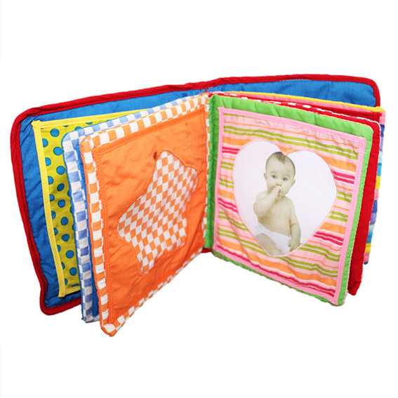 Educational Soft baby cloth book – Photo book
