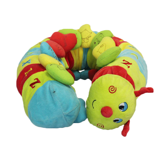 Plush toy-Alphabet Caterpillar