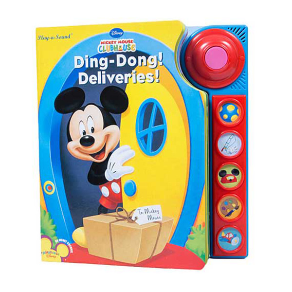Children music story books-Mickey