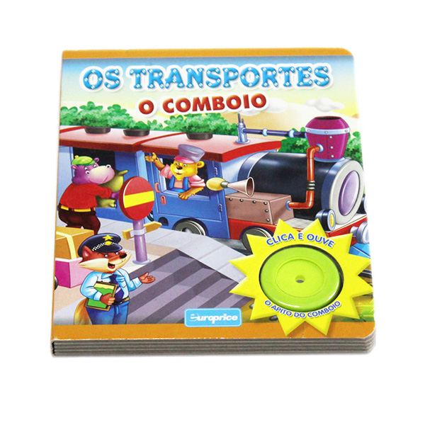 Children music story books-Train