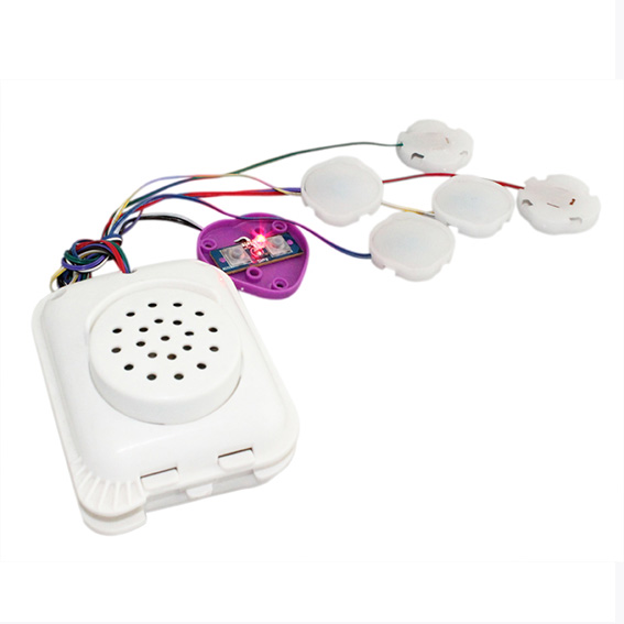 Sound lighting module for toys