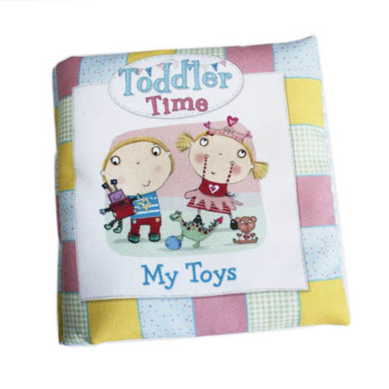 Educational Soft baby cloth book – My toys