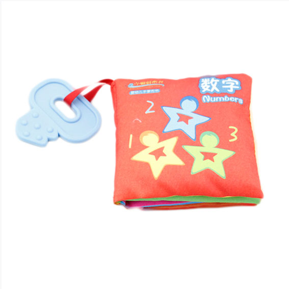 Educational Soft baby cloth book – Number Chinese