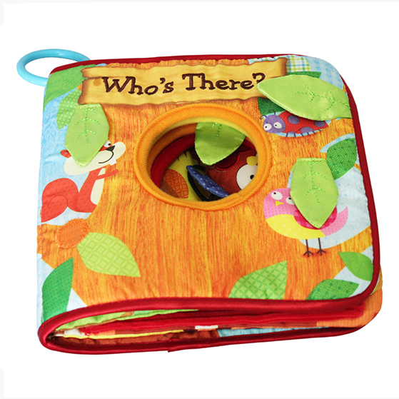 Educational Soft baby cloth book