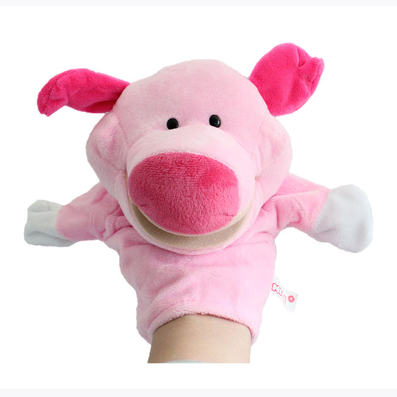 Customized hand puppets-Pig