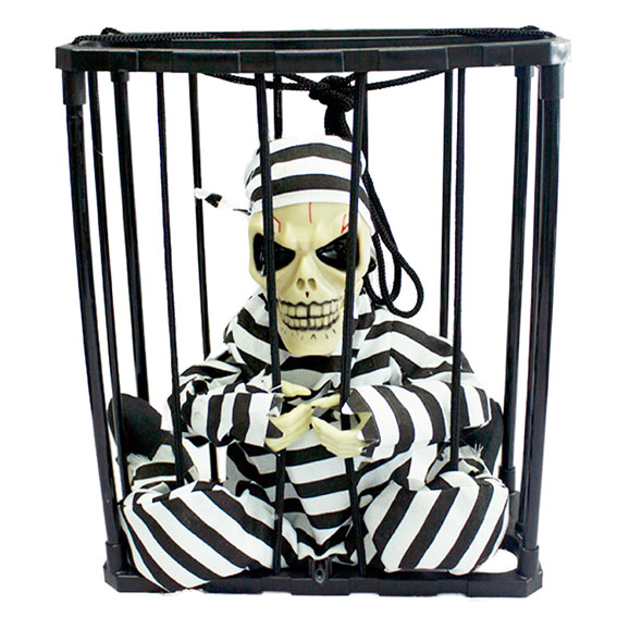 Halloween Prison Skeleton for trick or treat