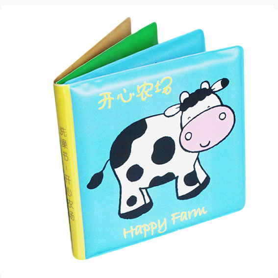 Waterproof baby bath book – Happy farm