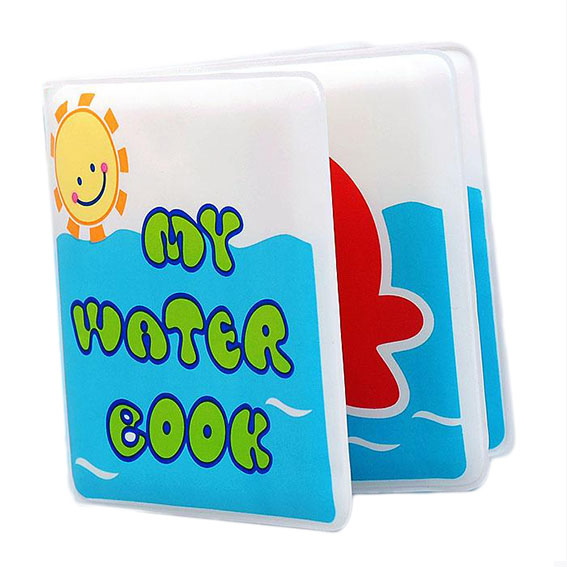 Waterproof baby bath book – My water book