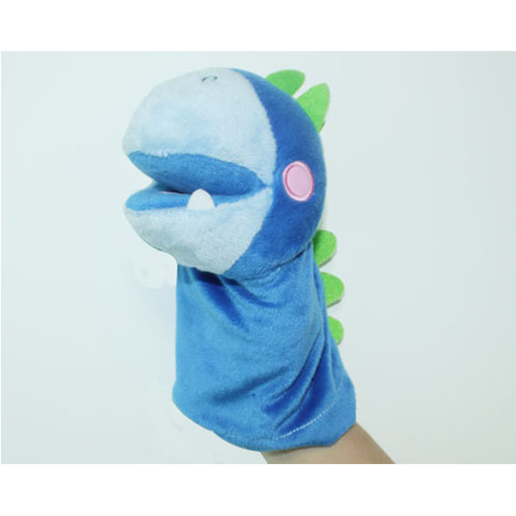 Customized hand puppets-Dinosaur