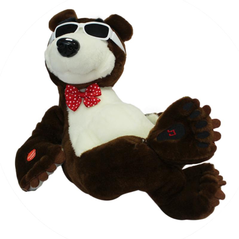 Musical bear toy