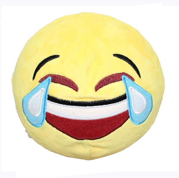 Custom Emoji Pillows-Laugh cry
