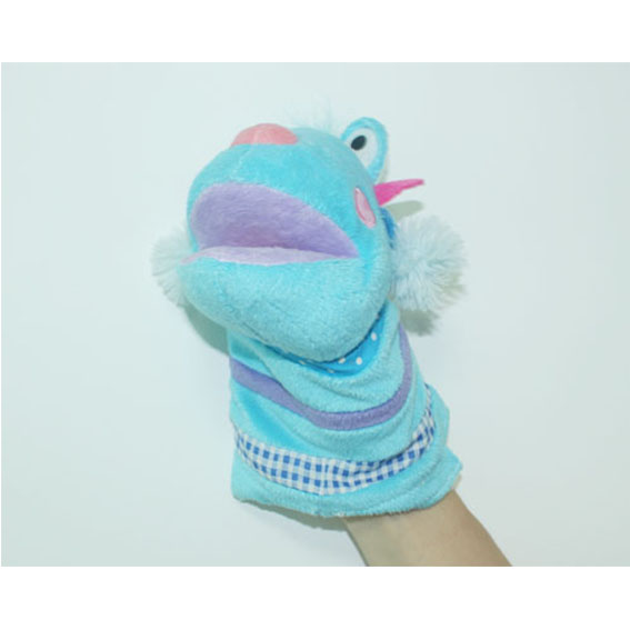 Customized hand puppets-Monster