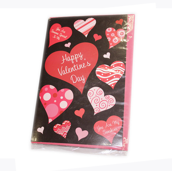 Musical greeting card-Valentines