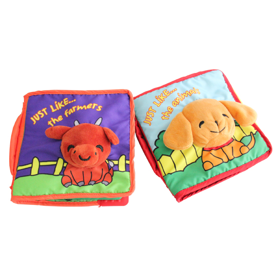 Customized Cloth book for Netherlands,Hot sale on Amazon