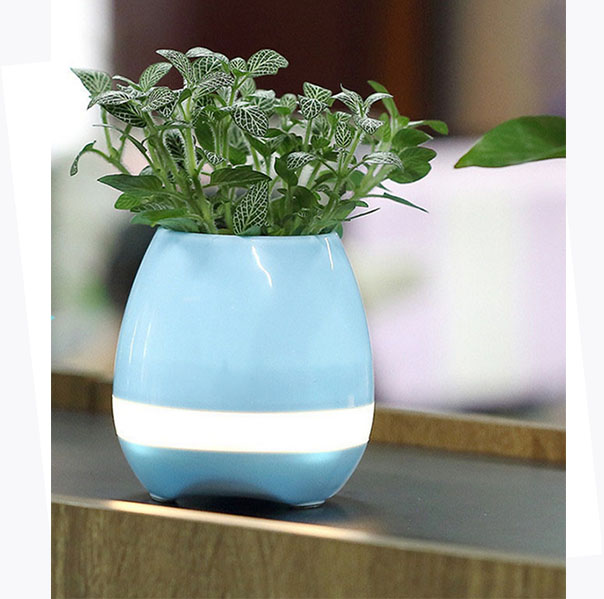 Plastic music flower pot / Bluetooth speaker