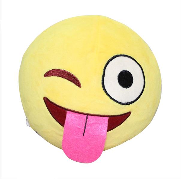 Custom super soft Plush Stuffed Emoji Pillows promotion
