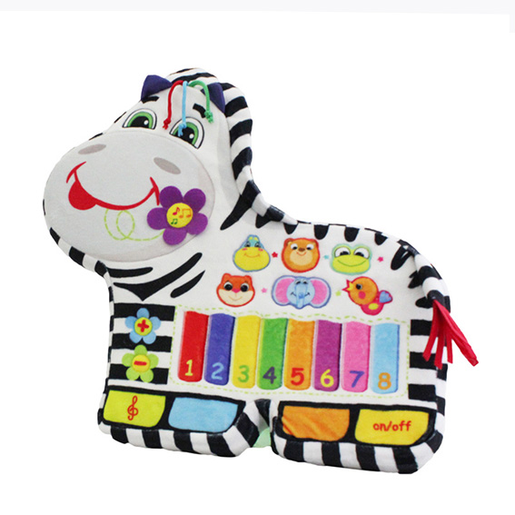Cusomized Functional Piano Zebra for Russia