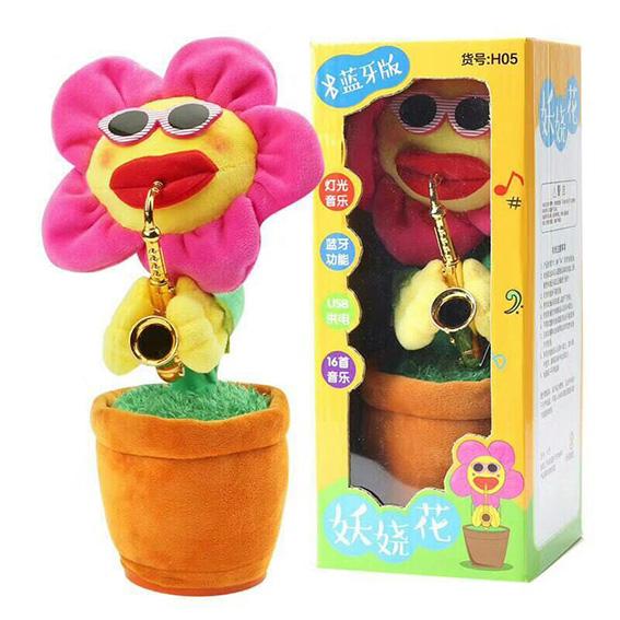 Humorous Sunflower Toy