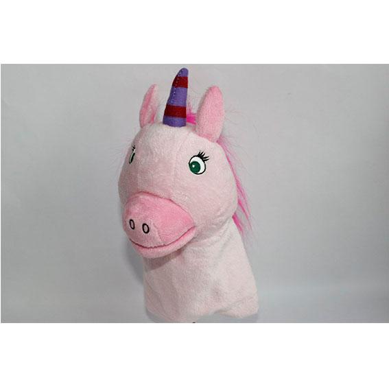 Customized hand puppets-Unicorn