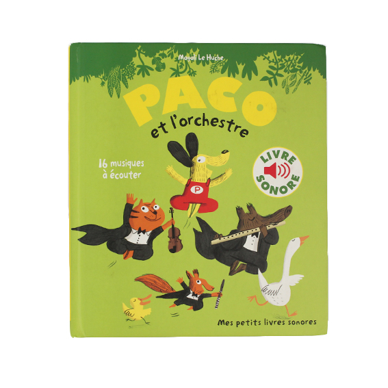 Early educational music book – Dog French