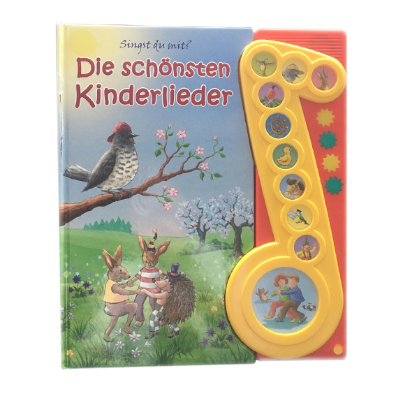 Children piano sound books – Bird