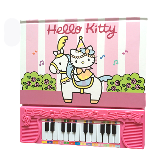 Children piano sound books – Hello kitty