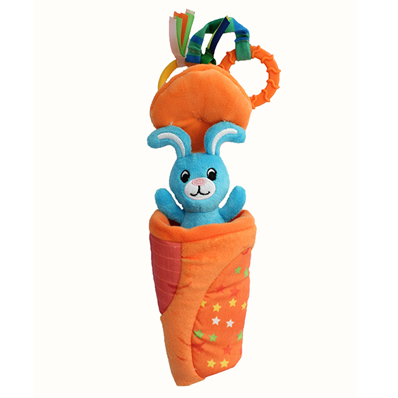 Multi-functional teether toy – Rabbit