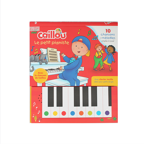 Children sound board piano book