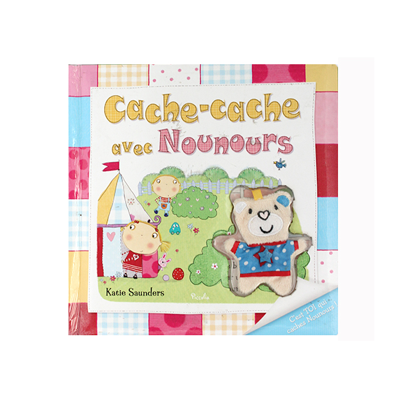 Early educational hiding book – French