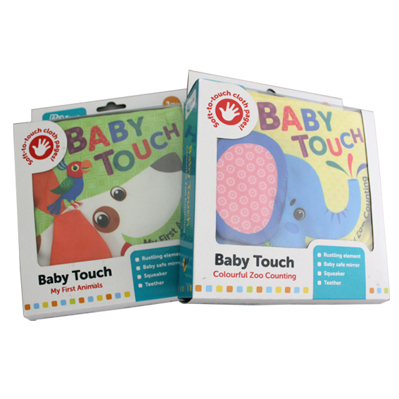 Toddler Cloth Book Baby Touch – Animal