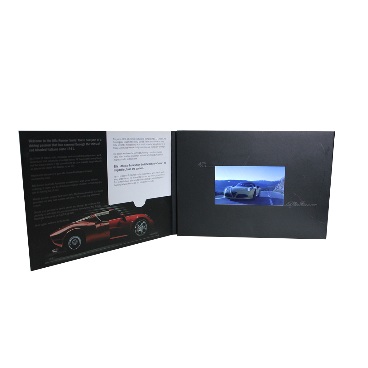 LCD Video Greeting Card